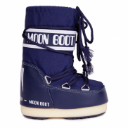 Moon Boot Nylon Blue Kids