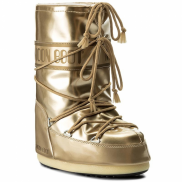 Moon Boot Vinyl Met Gold Kids