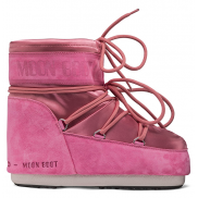 Moon boot Classic Low Satin Fuxia
