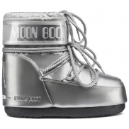 Moon Boot Classic Low Glance Silver
